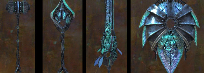 GW2 Pact Fleet Weapons Gallery