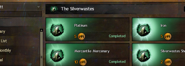 GW2 The Silverwastes Achievements Guide