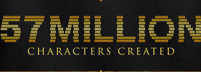 SWTOR Inforgraphic released–57 Million Characters Created