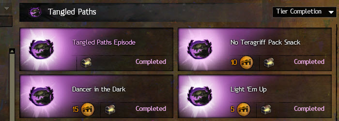 GW2 Tangled Paths Story Achievements Guide