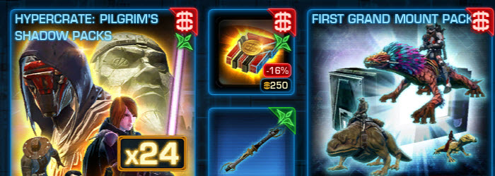 SWTOR Cartel Market Sales Dec 9-16–New Lightsabers
