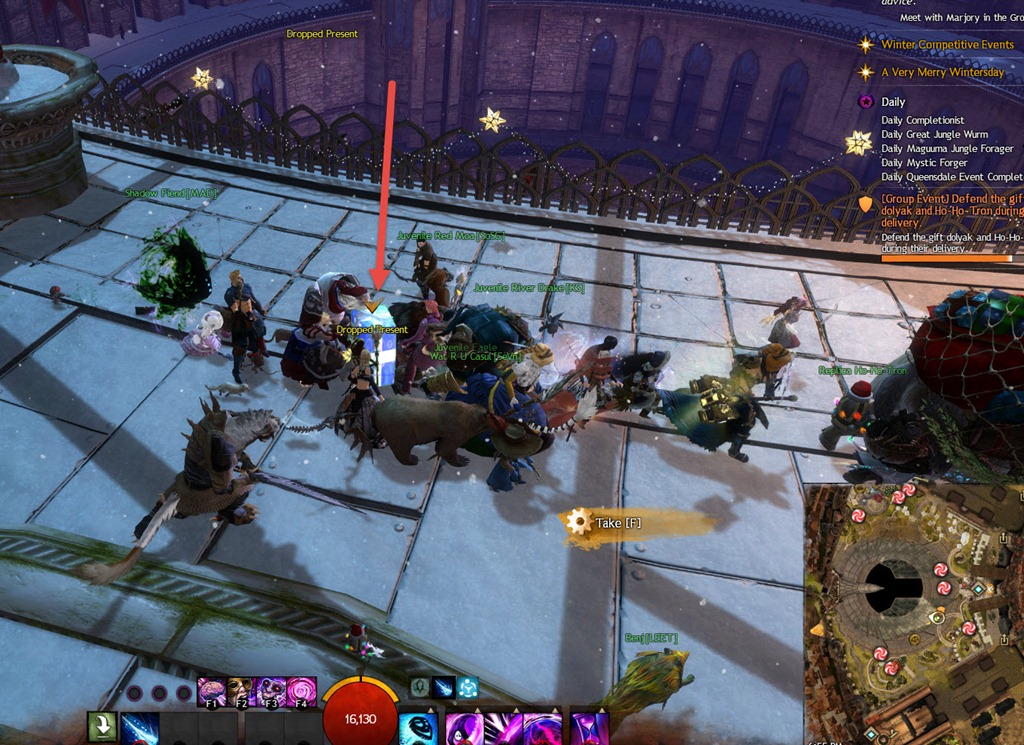 GW2 A Very Merry Wintersday Achievements Guide - Dulfy