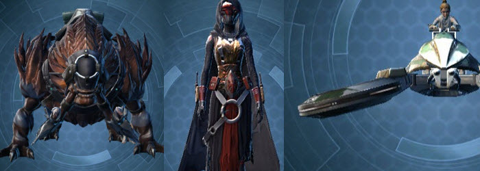 SWTOR Initiate's and Pilgrim's Shadow Pack Preview