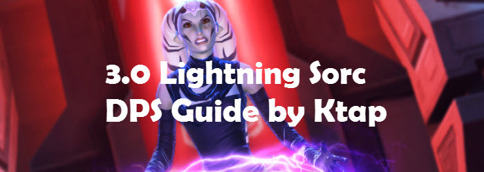 SWTOR 3.0 Lightning Sorcerer DPS Guide by KTap