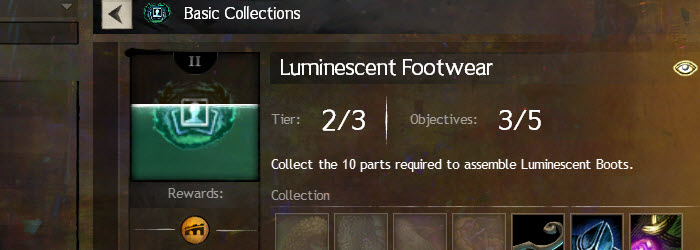 GW2 Luminescent Leggings and Boots Collections Guide