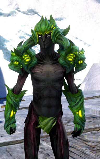 Gw2 Shadow Of The Dragon Helm Shoulders And Gloves In