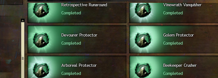 GW2 Point of No Return Vinewrath Silverwastes Achievements Guide