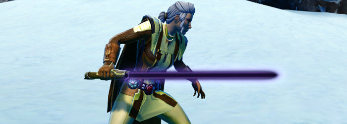 SWTOR Exclusive Black-Purple Color Crystal for subscribers
