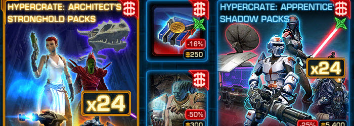 SWTOR CM weekly sales for Feb 24 – Mar 3