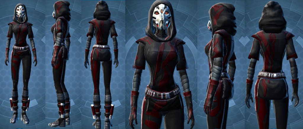 Star Wars The Old Republic Dark Seeker Top Bugged