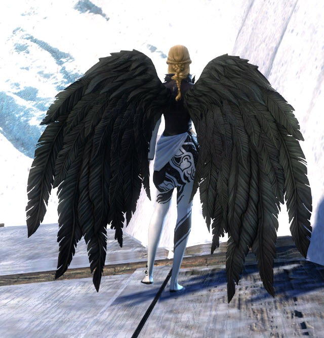 GW2 Gemstore Update–Black Feathered Wings and Martial ...