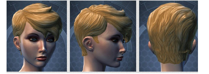 SWTOR New Hairstyle in Appearance Modification