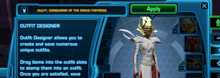 SWTOR Outfit Designer Guide