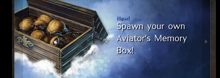 GW2 Aviator's Memory Box now in Gemstore