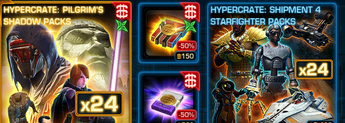 SWTOR CM weekly sales for April 21 – 28