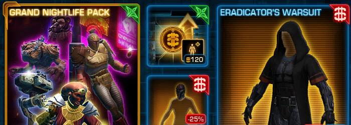 SWTOR CM weekly sales for April 28 – May 5
