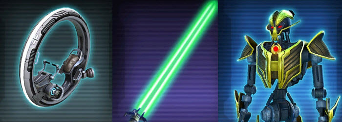 SWTOR Upcoming Items from SWTOR PTS 3.2.1