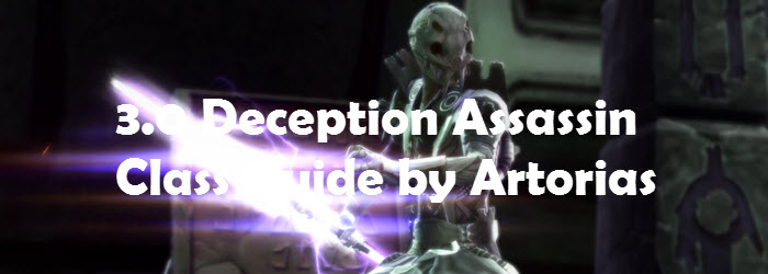 SWTOR 3.0 Deception Assassin DPS Guide by Artorias