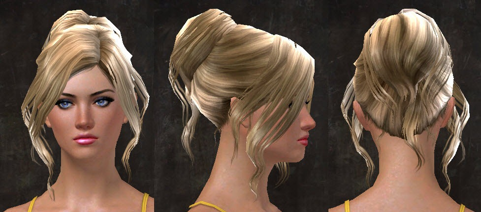 GW2 New Hairstyles from Total Makeover Kits for April 14 - Dulfy
