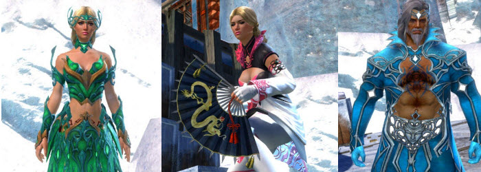GW2 Daydreamer's Finery Outfit and Elegant Fan Focus now available