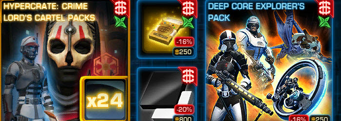 SWTOR CM weekly sales for May 19 – 26