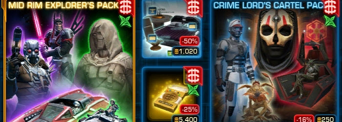 SWTOR CM weekly sales for June 9 – 16
