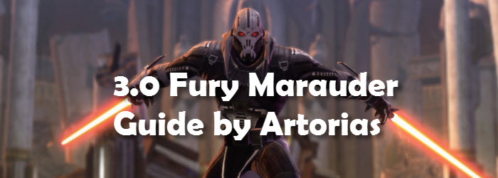 SWTOR 3.0 Fury Marauder DPS Guide by Artorias