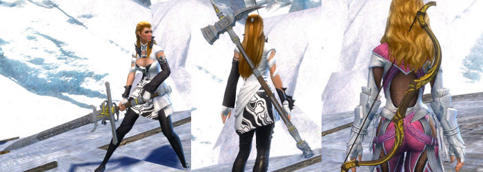 GW2 Gallant weapon skins galllery