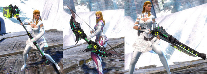 GW2 Scientific Weapon Skins Gallery