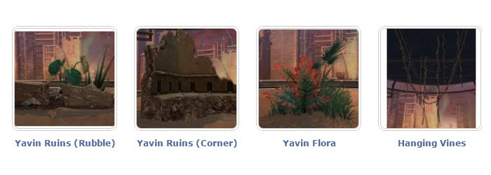 SWTOR New Yavin themed decorations on 3.3 PTS