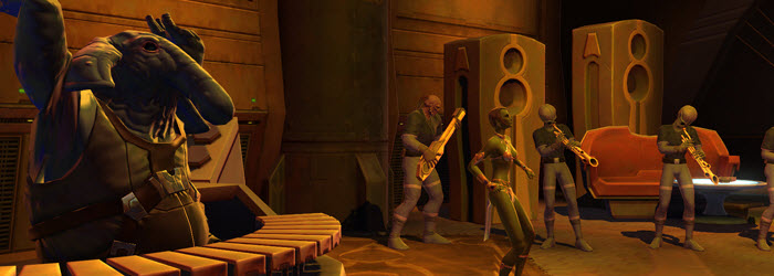 SWTOR SDCC Cantina Tour Q&A and Mount code Sharing