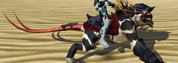 SWTOR Gladiatorial Nexu Mount now available for Season 5 PvPers