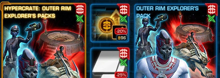 SWTOR CM Weekly Sales for July 21 – 28
