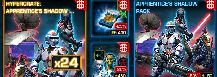 SWTOR CM weekly sales for July 7 – 14