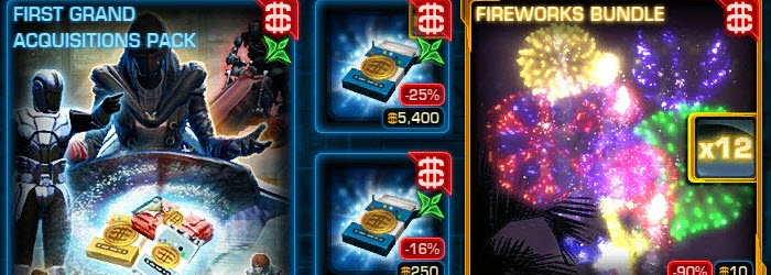 SWTOR Cartel Market Update for July 3