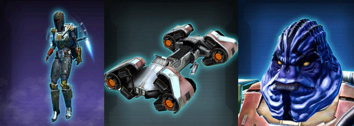 SWTOR Upcoming Items from July 22 Patch