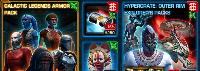 SWTOR CM Weekly Sales Aug 4 – 11