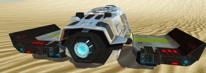 SWTOR Zakuul Personal Dropship available for 1500 CC