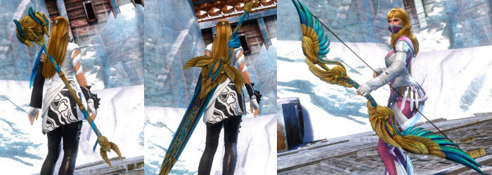 GW2 Dwayna Weapon Skins Gallery