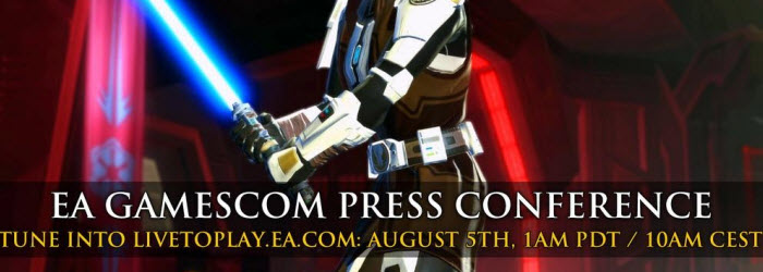 SWTOR EA Gamescom Conference on August 5