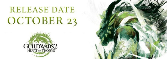 GW2 Heart of Thorns Launches October 23