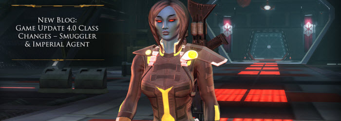 SWTOR 4.0 Class Changes for Agents and Smugglers