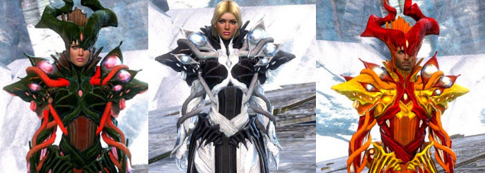 GW2 Harbinger of Mordremoth Outfit now available in Gemstore