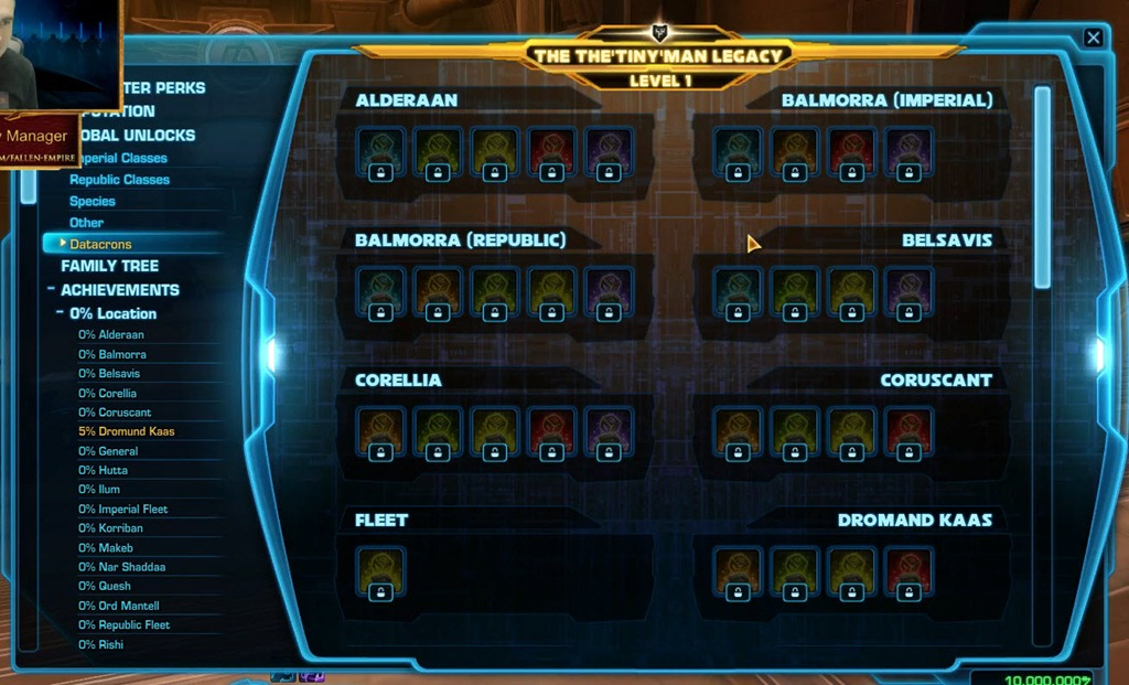 Star Wars The Old Republic Free Teleports To All Datacrons