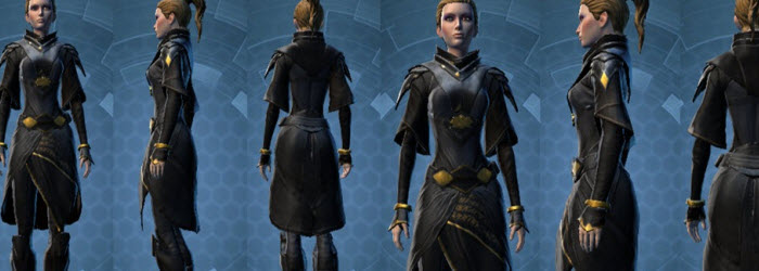 SWTOR Thexan's Robe and Lightsaber in Collections