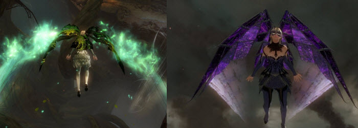GW2 Glider Skins Available on HoT Release