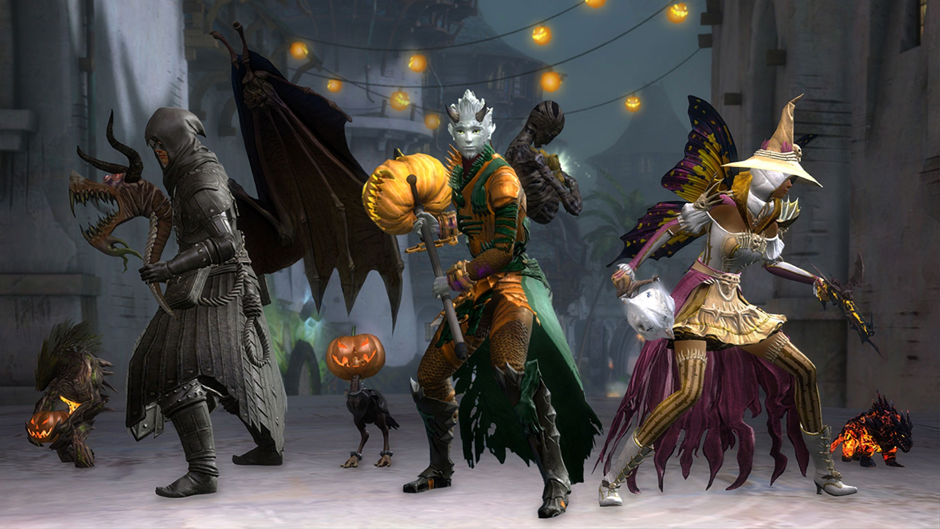gw2 halloween returns october 23 with new skins - dulfy