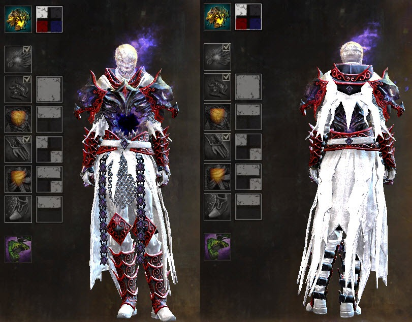 Gw gemstore updateu lunatic guard outfit ghoul backpack dulfy