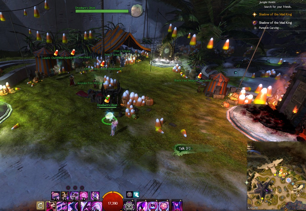 GW2 - Halloween 2015 Festival Guide | Time Keepers - Gaming Community