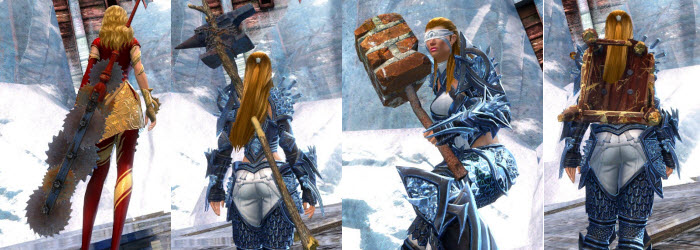 GW2 Improvised Weapon Skins Gallery